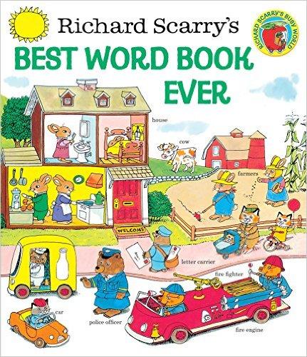Richard Scarry Best Word Book